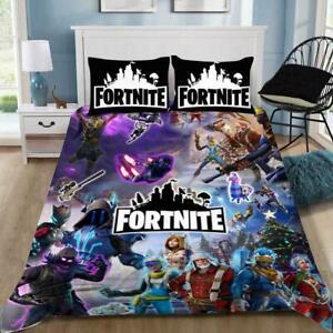 Fortnite Gamer With Logo Bedding Blanket