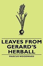 Leaves from Gerard's Herball (Hardback or Cased Book)