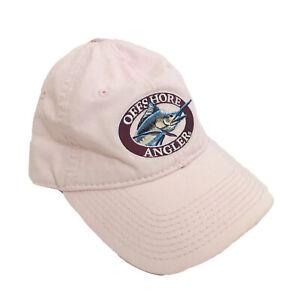 Offshore Angler Fishing Hat Adjustable Light Pink Saltwater Tackle Bass Pro Shop
