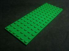 GN42 x 1 Plate GREEN LEGO 6 x 12 part 3028
