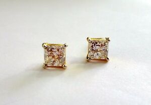 STUD EARRING 22K YELLOW GOLD 916 HALLMARKED GOVERNMENT APPROVED PURITY UNISEX