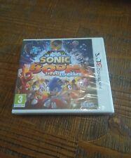 Sonic Boom Le feu et la Glace sur Nintendo 3DS neuf sous blister VF !