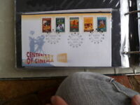 1995 AUSTRALIA  CENTENARY OF CINEMA  NED KELLY  First Day COVER & PEELN STICK