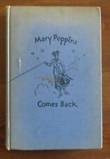 Mary Poppins Comes Back PL Travers Reynal & Hitchcock Vintage HB 3rd 1936