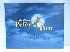 Peter Pan Exclusive 1997 Commemorative Lithograph Walt Disney Store Masterpiece