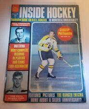 1969-70 Sports Quarterly, Inside Hockey, magazine, Phil Esposito, Boston Bruins