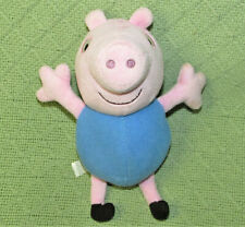 """FISHER PRICE GEORGE PEPPA PIG 8"""" STUFFED ANIMAL PLUSH DOLL CHARACTER TOY 2011"""