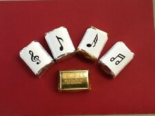 120 Musical Note Candy Wrappers - Fits Hershey's Nugget Bars