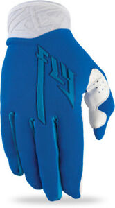 Fly Racing 2013 Pro Lite Mens Blue White Extra Large X XL XLG Dirt Bike Gloves