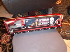 2010 HOT WHEELS STONE COLD STEVE AUSTIN WWE HAULER BLACK