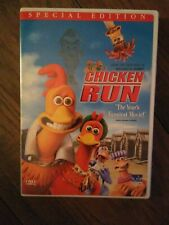Chicken Run (Dvd, 2000, Widescreen) Mel Gibson, Miranda Richardson, Phil Daniels