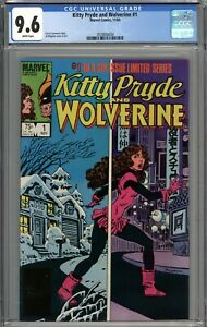 Kitty Pryde and Wolverine #1 CGC 9.6 NM+ WHITE PAGES