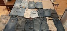 New listing Ripped Jeans Large Lot Sewing Denim Crafts