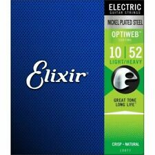 Elixir Optiweb Electric Guitar Strings 10-52