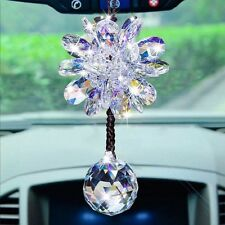 Top Grade Car Interior Decor Crystal Car Pendant Hanging Ornament Accessories