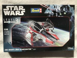 Revell Disney Star Wars 1/58 Obi-Wan's Jedi Starfighter plastic model kit 03607