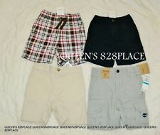 Nwt Boys 4 pc shorts lot size 12-18 months Ralph Lauren Gymboree Timberland new