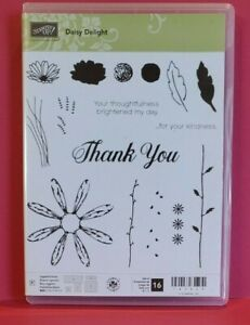 Stampin'Up Stamp Set Clear Mount Daisy Delight 143669