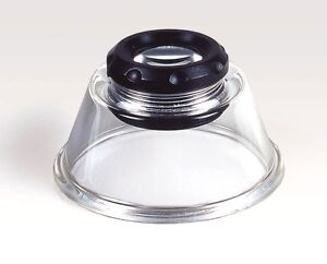 KAISER 2332 10X MAGNIFICATION STAND LUPE BASE MAGNIFIER LOUPE K2332