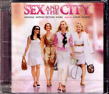 SEX AND THE CITY: THE MOVIE The Score AARON ZIGMAN CD Sarah Jessica Parker NEU