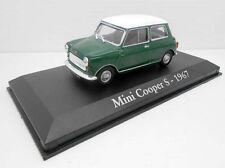 1/43 COCHE MINI COOPER S VERDE 1967 SEAT IXO RBA 1/43 METAL MODEL CAR MINIATURA