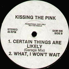 KISSING THE PINK - Stand Up / Certain Things Are Likely - SAM 506 - Uk