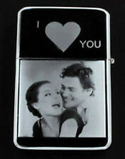 PERSONALISED ANY PHOTO / TEXT ENGRAVED LIGHTER GIFT UK