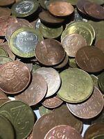 100 Gramm Restmünzen/Umlaufmünzen Weissrussland
