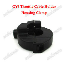Scooter Throttle Cable Holder Housing Clamp For Gy6 50cc 125 150 cc Engine Moped