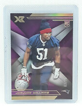JoeJuan Williams 2019 Panini XR Football PURPLE RC (03/25) New England Patriots