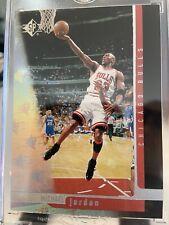 1996-97 SP Michael Jordan Chicago Bulls # 16 Rare Sample/Promo