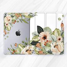 Wildflower Nature Peony Retro Case For iPad 10.2 Air 3 Pro 9.7 10.5 12.9 Mini 5