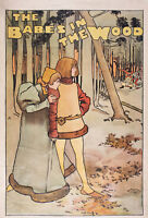 THEATRE AD TRADITIONAL BABES IN THE WOOD XXL POSTER WALL ART PRINT LLF0499