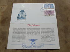 1977 Westminster FDC -Queen's Silver Jubilee / Royalty - Bahamas
