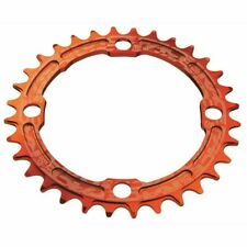 RaceFace Narrow Wide Chainring: 104mm BCD 32t Orange