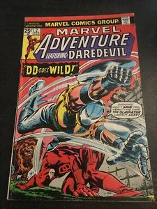 Marvel Adventures Starring Daredevil#2 Awesome Condition 5.5(1975)
