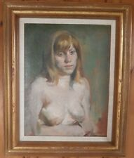 Young Nude Woman with Dirty Blonde Hair-1980s-Burton Silverman
