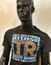 Mens-True-Religion-Tshirt-NEW-100% Original-Organic-Cotton-BLACK XLARGE