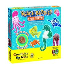 Beach Buddies Shell Crafts Creativity for Kids Activity