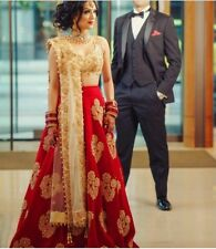 Indian Traditional Designer Pakistani Women PartyWear Wedding Dress LehengaCholi