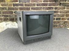 "* Sony PVM-14N1U 14"" Trinitron Color CRT Monitor / Retro Gaming Monitor"