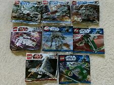LEGO Star Wars Brickmaster Polybags - Complete SET Of 8 Bags - Rare 20006 - NEW