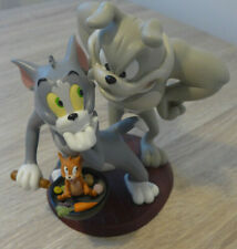 Tom & Jerry With Spike The Dog Collectable Figurine Statue TM & Turner - VGC