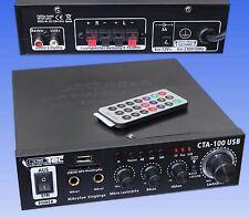100 Watt HiFi-Verstärker USB kompakt MP3 Cinch In Stereo Musikverstärker Disco