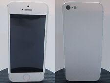 4D Carbon Fiber Full Body Skin Vinyl Sticker For iPhone 5