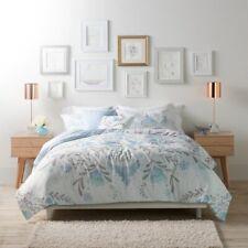 4PC TWIN/TWIN XL Lauren Conrad Carina Blue Medallion Comforter Set