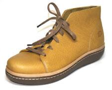 Scarpe da donna Stivaletti giallo con stringhe