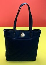Authentic Tommy Hilfiger Purse Womens Handbag Shopper Tote 2 Pc W/Wristlet  NWT
