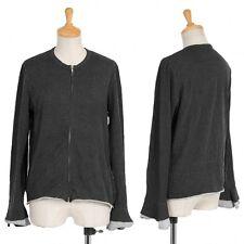 (SALE) tricot COMME des GARCONS crinkled cotton cardigan Size About  M(K-20838)