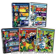 Teen Titans: Complete Animated Tv Series Seasons 1 2 3 4 5 Box / Dvd Set(s) New!